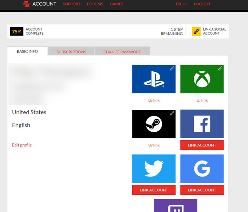 How Do I Link Profiles To My 2K Account? – 2K Support
