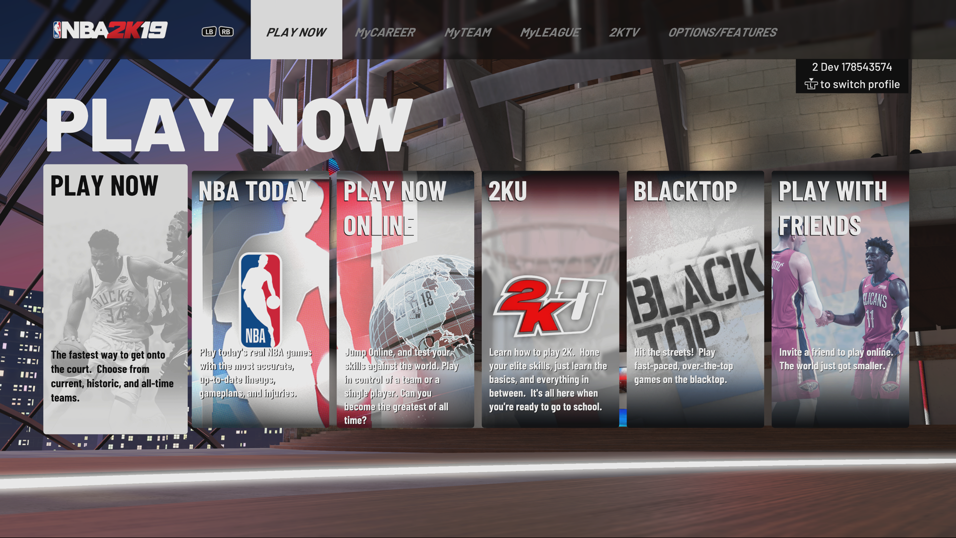 NBA 2K19 - Error message: EFEAB30C or 4B538E50 – 2K Support