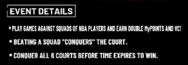 I haven't received my Court Conqueror rewards  – 2K Support
